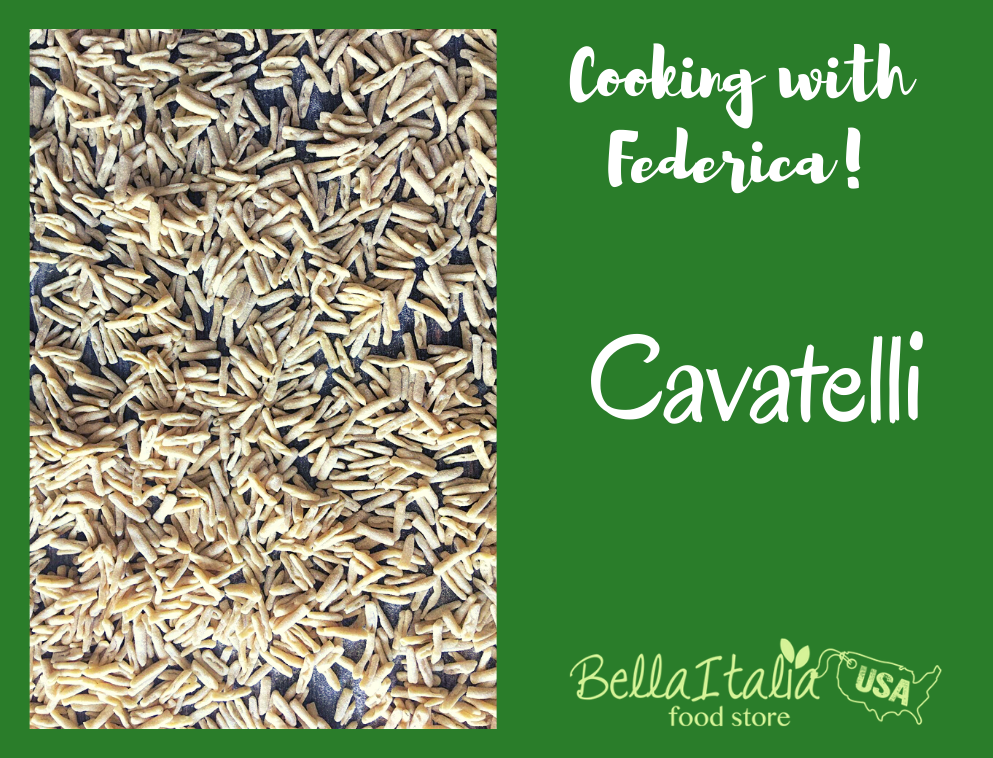 Cooking with Federica: Making Cavatelli with Nonna Maria