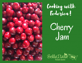 Cooking with Federica: Homemade Cherry Jam