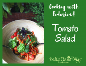 Cooking with Federica: Summer Tomato Salad