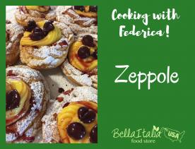 Cooking with Federica: Zeppole di San Giuseppe