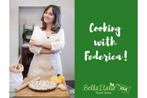 Let's get cooking with Federica!