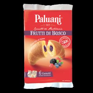 Paluani - Cornetti Frutti di Bosco - Wild Berries Croissants -  6 pieces - 8.8oz