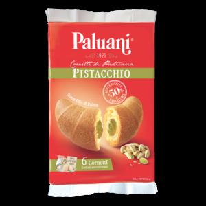 Paluani - Cornetti Pistacchio - Pistachio Cream Croissants -  6 pieces - 8.8oz