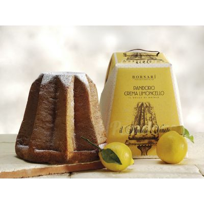 Borsari- Pandoro with Limoncello Cream (850 gr)