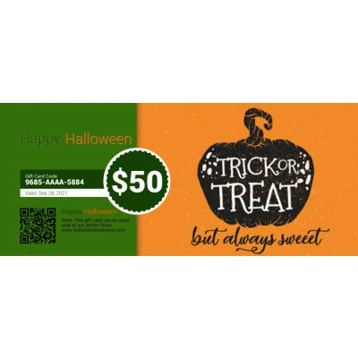Happy Halloween - E-Gift Card