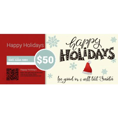 Happy Holidays - E-Gift Card