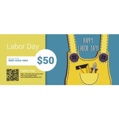 Labor Day - E-Gift Card