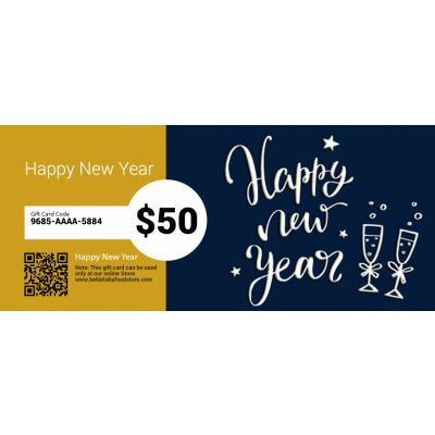Happy New Year - E-Gift Card