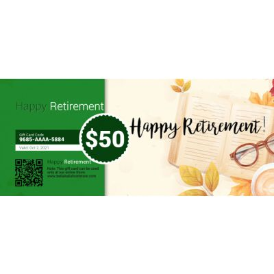 Retirement - E-Gift Card