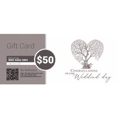 Wedding - E-Gift Card