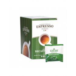 Click Cafè - Miscela Decaffeinato - 30 Coffee pods ESE 44mm