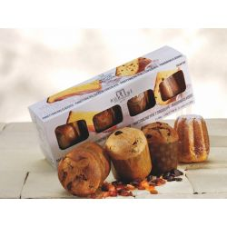 Borsari - Panettone with Pistachio cream in box. Low Baked (1000 gr)