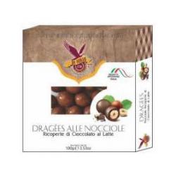 Dragees - Hazelnuts Milk Chocolate Coated