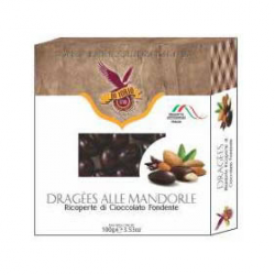 Dragees - Almonds Dark Chocolate Coated