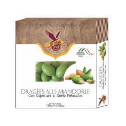 Dragees - Almonds Pistachio Flavour Coated