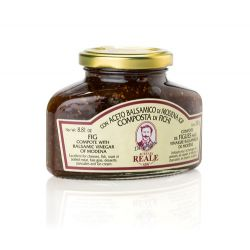 Acetaia Reale - Composta di Fichi al Balsamico - Fig compote with balsamic - 250 gr - 8.81 oz