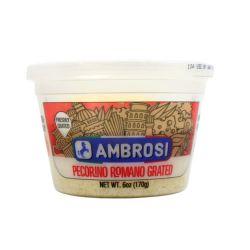 Ambrosi- Pecorino Romano Grated - 6 Oz