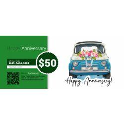 Anniversary - E-Gift Card