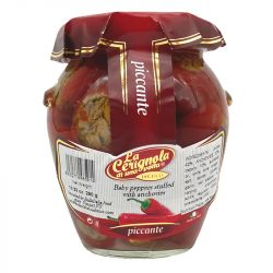 La Cerignola di una volta - Baby Peppers stuffed with Anchovies - 314 ml - 10,23 oz