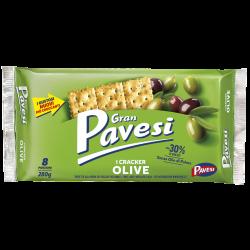Pavesi- Gran Pavesi Olive Crackers