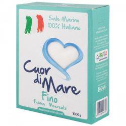Cuor di Mare - Fine Sea Salt  - 1000 gr - 2.2 lb