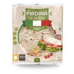Frescopiada - Original Italian Piadina Flatbread (4 pieces 300gr / 10.6 Oz)