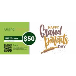 Happy Grand Parents Day - E-Gift Card