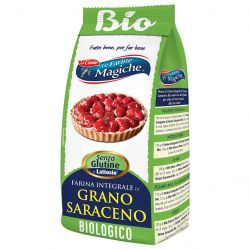 Le Farine Magiche - Farina integrale di Grano Saraceno - Gluten free - 500gr