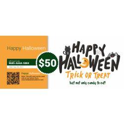 Happy Halloween - E-Gift Card