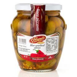 La Cerignola di una volta - Hot Crushed Olives