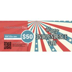 Indipendence Day - E-Gift Card