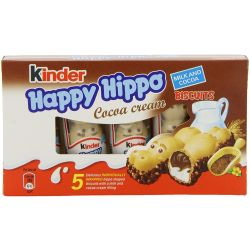 Kinder Happy Hippo Cocoa Cream (pack of 5 pieces)