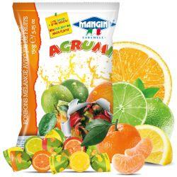 Mangini - Caramelle Agrumi - Mixed Candies with Fruit Juice (150 gr - 5.29 Oz )