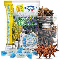 Mangini - Caramelle Anice - Anise Candies (150 gr - 5.29 Oz )