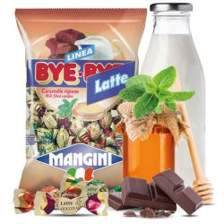Mangini - Caramelle Bye Bye Latte - Filled Candies (150 gr - 5.29 Oz )