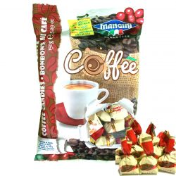 Mangini - Caramelle Crema Caffe - Candies filled with Coffee Cream (150 gr - 5.29 Oz )