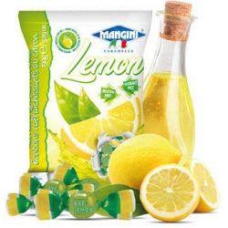Mangini - Caramelle al Limone - Lemon Candies (150 gr - 5.29 Oz )