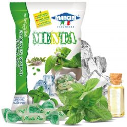 Mangini - Caramelle alla Menta - Mint Candies (150 gr - 5.29 Oz )