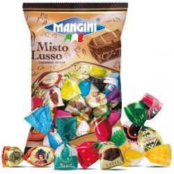 Mangini - Caramelle Misto Lusso - Assorted Filled Candies (150 gr - 5.29 Oz )