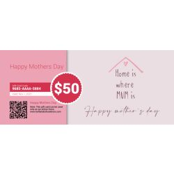 Mother's Day - E-Gift Card