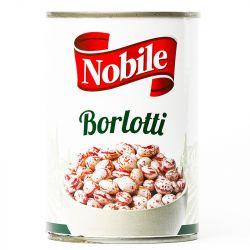 Nobile - Borlotti Beans (400gr - 14,10 Oz)