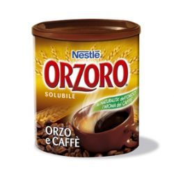 Orzoro Solubile and Coffee