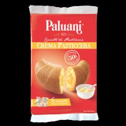 Paluani - Cornetti Crema Pasticcera - Custard Cream Croissants -  6 pieces - 8.8oz