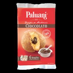 Paluani - Krapfen al Cioccolato - Chocolate Krapfen -  6 pieces - 8.8oz