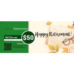 Retirement - E-Gift Card