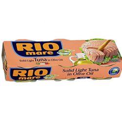 Rio Mare - Solid Light Tuna in Olive Oil (3X80gr)