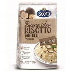 Riso Scotti  - Risotto Tartufo with Carnaroli Rice and Truffles - 210gr - 7.4oz