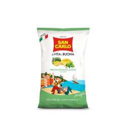 San Carlo - PESTO CHIPS (150gr 5.29oz)