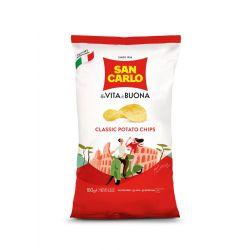 San Carlo - CLASSIC POTATO CHIPS (180gr - 6.35oz)