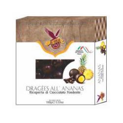 Di Iorio - Pineapple Nuggets Dark Chocolate Coated